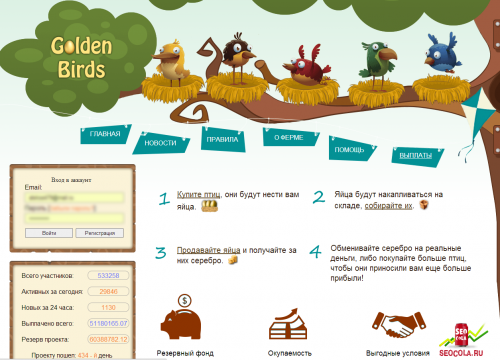 goldenbirds
